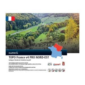 Cartographie Topo France V4 Pro Nord Est