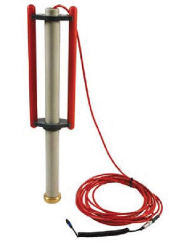 Antenne submersible 512 Hz pour détecteur