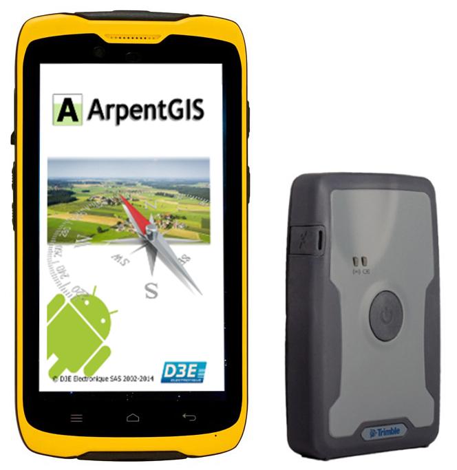 Solution ArpentGIS TDC100 WIFI-4G Trimble R1