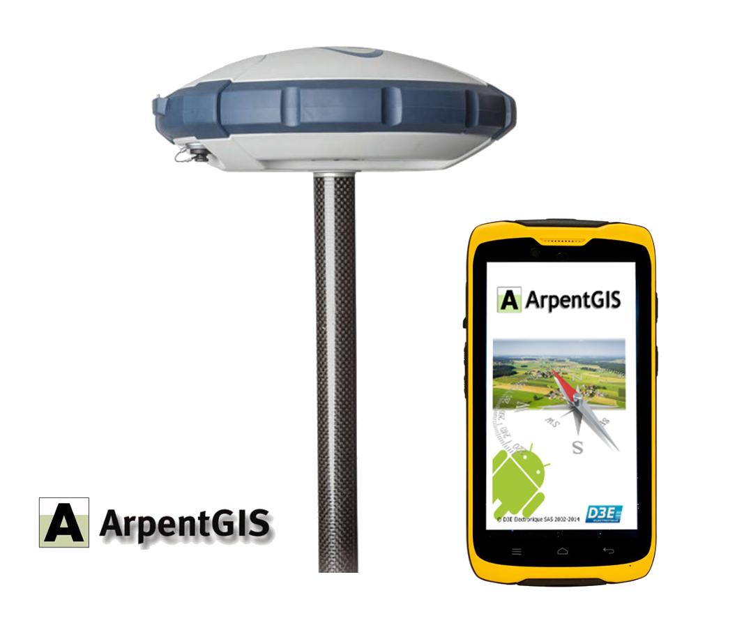 Solution ArpentGIS SP60 7CM