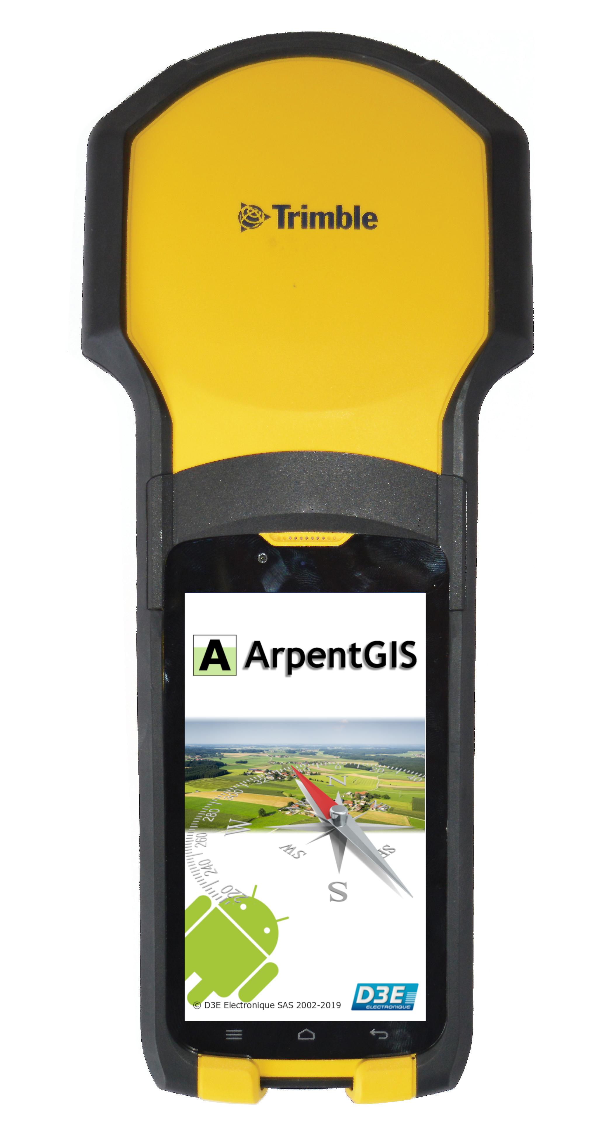 Solution ArpentGIS TDC150 30 CM