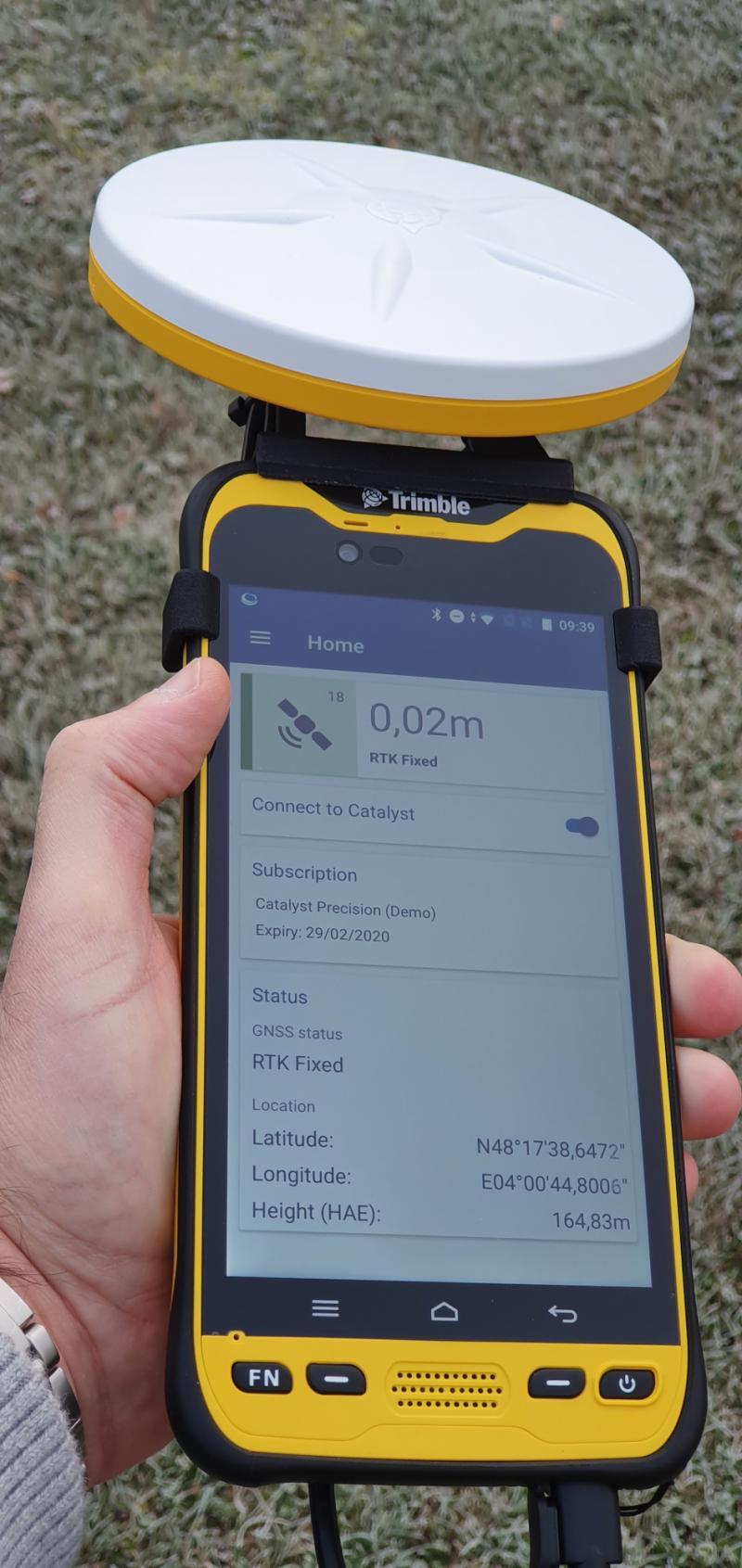 Terminal Android Wifi-4G Trimble TDC600